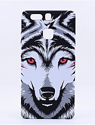 New Style Fluorescent Noctilucent 3D cute Cartoon Animal world Wolf Phone Case Cover For P9 Plus  P9  Mate8