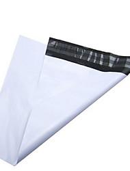 sf bolsas mensageiro qualidade grossos brilhantes insípido branco leitoso 28 * 40 auto-adesivas sacos de correio 100 / pacote