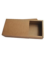 Brown Color Packaging & Shipping 350g 19.5 * 10.5 * 4CM (Outside Diameter) Packing Boxes A Pack of Five