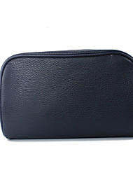 Unisex Cosmetic Bag PU Professioanl Use Blue