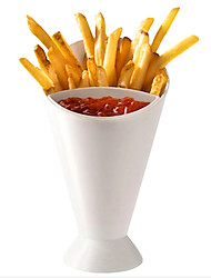 Snack Cone Stand Dip Holder For Fries Chips Finger Food Sauce Vegetables Kitchen Potato Tool Tableware