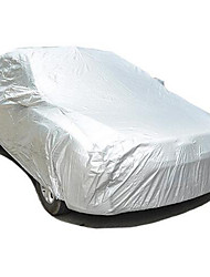 Car Garment Car Cover Taffeta 190T Single Double Coated Silver