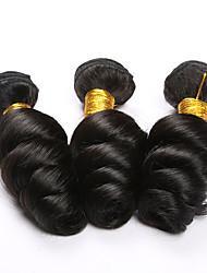 7A brazilian loose wave virgin hair 3pcs lot human hair weave brazilian virgin hair bundles