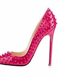Черный / Зеленый / Розовый / Красный / Серебристый / Золотистый / Миндальный-Женская обувь-Свадьба / Для офиса / Для праздника / На
