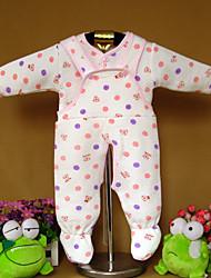 bebê Roupa interior,Casual Animal Algodão Inverno Azul / Rosa