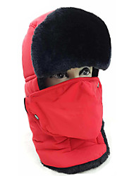 Chapka Hat / Fur Hat Ski Pollution Protection Mask / Hat Women's / Men's Waterproof / Thermal / Warm Snowboard PolyesterGray / Black /