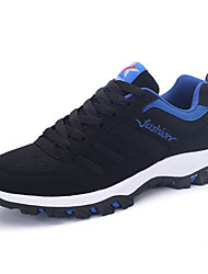 Men's Sneakers Spring / Fall Round Toe PU Outdoor / Athletic / Casual Flat Heel Lace-up Training /