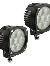 2PCS 4.3'' 35W CREE LED 5000lm LED Work Light IP68 LED Work Lamp for 4WD Truck Mining etc