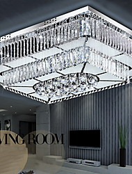 32W Flush Mount ,  Modern/Contemporary Electroplated Feature for LED Glass Living Room / Bedroom / Dining Room / Study Room/Office