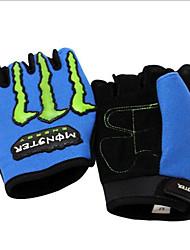 invierno y verano de medio dedo guantes de moto ms montar el equipo MTB. guantes de montar la motocicleta corto del dedo