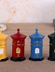 Resin Craft Mailbox Ornaments Shooting Props Home Decoration(Random Styles)