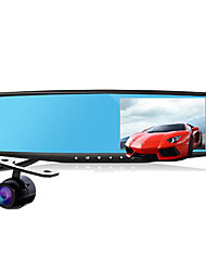 Rear View Mirror Driving Recorder Double Lens HD Wide Angle 1080P Driving Recorder