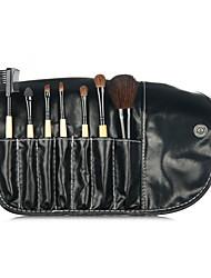 7Pcs Sets Makeup Brush Sets Animal Portable Suit