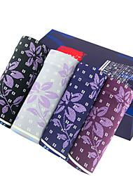FEIXIU® Men's Cotton Underwear Health 2 Colour(4 Pcs/Box)