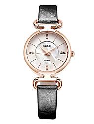 KEZZI® 2016 new arrvial leather fashion women quartz watch 1464