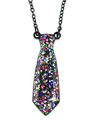 Modische Halsketten Anhängerketten Schmuck Party / Alltag / Normal Modisch / bezaubernd Aleación Schwarz 1 Stück Geschenk