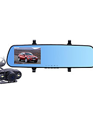 Car Driving Recorder Double Lens High Definition Parking Monitoring Car Backing Image Integrated Machine