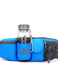 Waist Bag/Waistpack Belt Pouch/Belt Bag Bottle Carrier Belt Hydration Pack & Water Bladder forCamping & Hiking Fishing Climbing Fitness