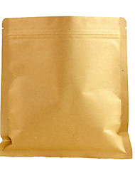 Aluminium Coated Kraft Paper Valve Bag Packaging Bags Wholesale Food Bag Zipper Bag A Pack Of Ten