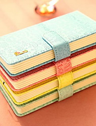 Notepad PU Leather Hard Copy Notes Book Wholesale