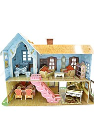 Double Decker doll house 3d puzzle promotion item premium gift sets
