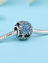 Bracelets Charm 1pc,Silver Bracelet Fashionable Round Sterling Silver Jewellery