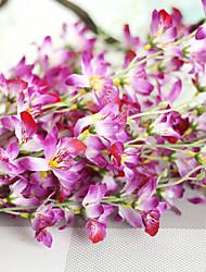 1 1 Ast Polyester Orchideen Tisch-Blumen Künstliche Blumen 107*15*15CM