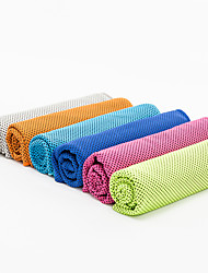Cooling Towel / Yoga Towels Odor Free / Sticky / Eco Friendly / Non Toxic Pink / Blue / Green / Orange