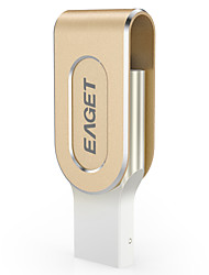 EAGET I80 32G USB3.0/Lightning OTG Mini Flash Drive U Disk for iPhones, iPads, Mac/PCs