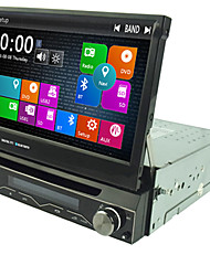 1 DIN 7 '' lettori DVD dell'automobile con il GPS Navi Radio in plancia built-in 3G WIFI BT SWC usb / sd