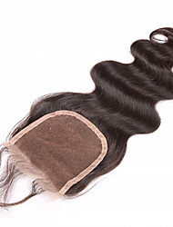 Best Virgin Brazilian Closure Body Wave Brazilian Lace Closure Free Part Virgin Human Hair Closure Natural Black