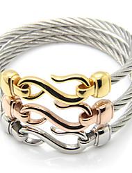 Bracelet Chaînes & Bracelets / Bracelets Rigides Acier au titane Others Durable / Mode / Vintage / Style Punk / Ajustable / Adorable