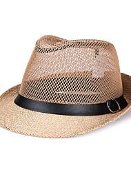 Unisex Linen Sun Hat,Casual Spring / Summer
