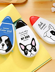 Korea Stationery Cute Little Dog Large-Capacity 30m Durable Correction Tape (Random Color)