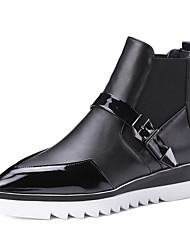 Women's Boots Spring / Fall / Winter Fashion Boots / Motorcycle Boots / Pointed To Outdoor / Dress / Casual Flat Heel