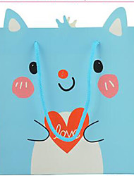 Factory Direct New Cartoon Fox Gift Bags Gift Bags Paper Bags Favor Bags Toys Bags A Pack Of Five