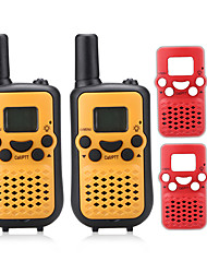 T899BR Walkie-talkie 0.5W 8 Channels 400 - 470 MHz AAA alkaline battery 3 Km - 5 Km VOX / Display LCD / Monitor / Mostra tutti N/A