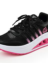 Damen-Sneaker-Lässig-Tüll-Flacher Absatz-Komfort