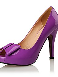 Women's Shoes Patent Leather Heels / Peep Toe / Platform / Styles Heels Wedding / Party & Evening / DressStiletto