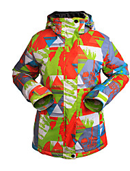 Lady Outdoor Sports Ski Suit Waterproof Breathable Warm Ski Suit