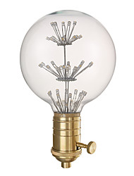 youoklight e27 g80 3w 220v décoratif ampoule et la combinaison de support de lampe vendre.