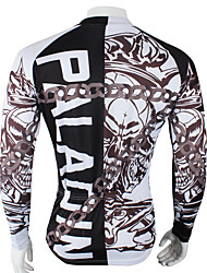 Sports Cycling Jersey Men's Long Sleeve Bike Breathable / Ultraviolet Resistant / Sweat-wicking Tops Coolmax Letter & NumberSummer /