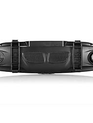 specchietto retrovisore doppia lente cane elettronico ad alta definizione da 7 pollici registratore dell'automobile della protezione di