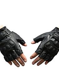 PU gants demi doigt le sport au guidon d'une moto vélo d'exercice gants de combat en plein air d'entraînement d'haltères