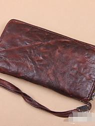 Для мужчин Полиуретан На каждый день / Для отдыха на природе Вечерняя сумочка / Кошелек
