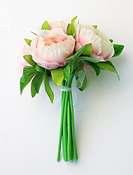"""1 Ast Kunststoff Pfingstrosen Tisch-Blumen Künstliche Blumen 37(14.5"""")"""