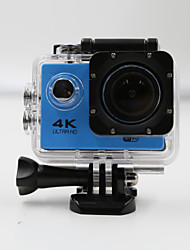 Sports Camera 4K  WIFI Waterproof Action Camera High Defenition 2.0 Inch Sports DV 360 Degree Sport Camera Blue