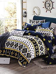 Soft Print Bedlinen Fleece winter bedding set queen king size soft bedsheet pillowcase Duvet cover 4pcs bed set