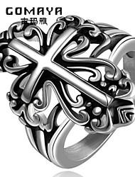 Fedine,Gioielli Argento Hip-hop / Rock Quotidiano / Casual Acciaio al titanio 1 pezzo,7 / 8 / 9 / 10 Da uomo
