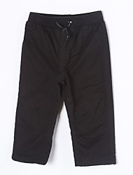 Girl's Casual/Daily Pants,Cotton Winter / Fall Black